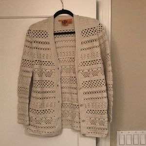 Tory Burch Eyelet sweater